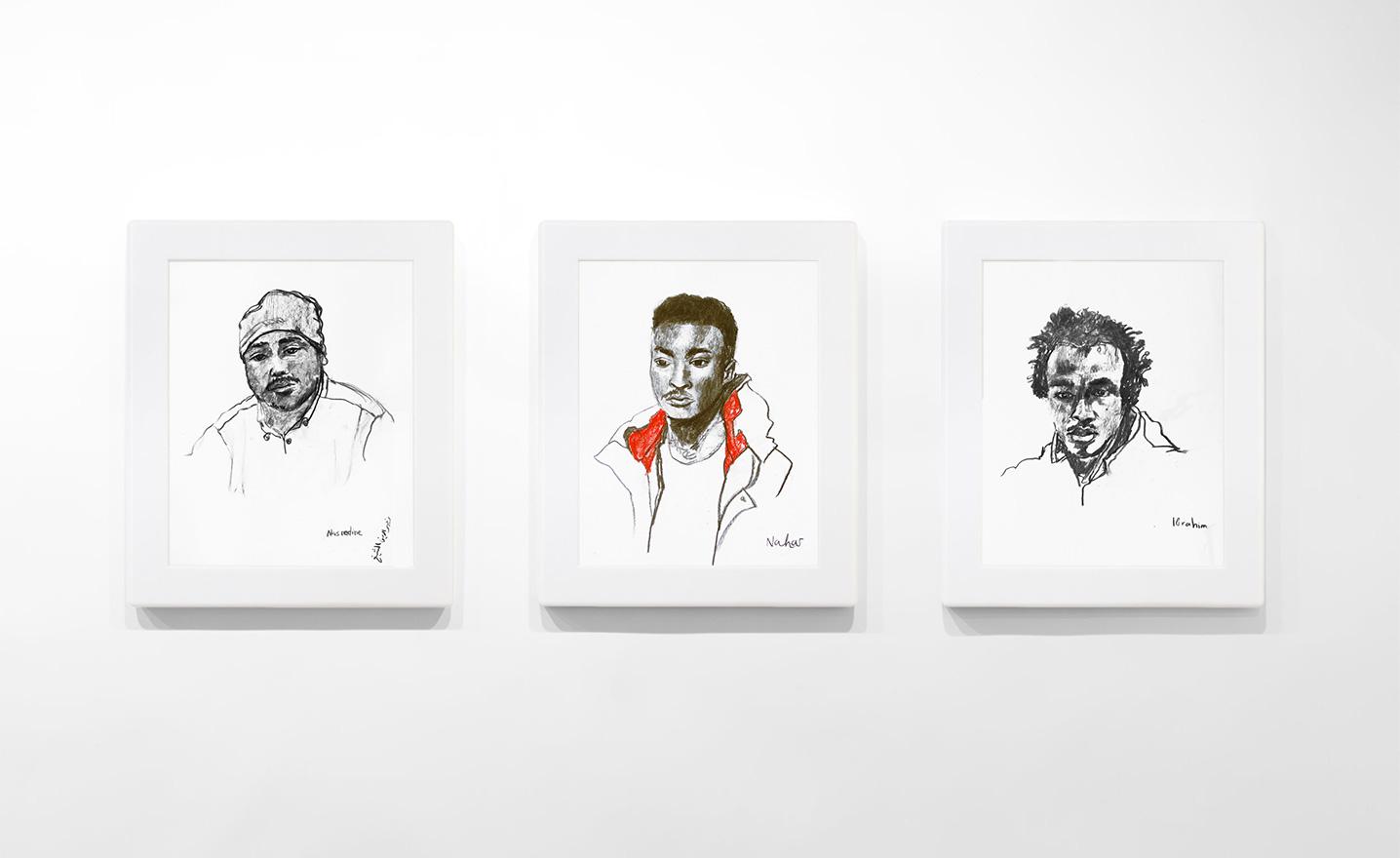 migrants portraits-clemence-devienne