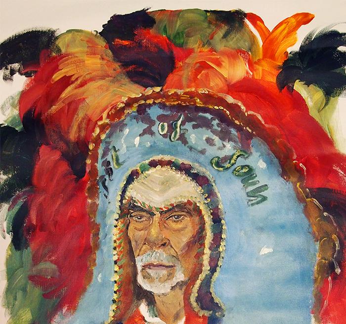 portraits of New orleans mardi gras indians, clemence devienne