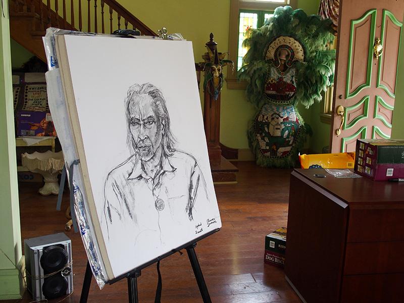 Visages de la Nouvelle-Orléans, mardi gras indians portraits