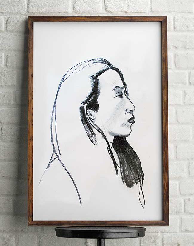 portrait-d'agnes-clemence-devienne